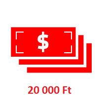 Ajándék 20000Ft-ig