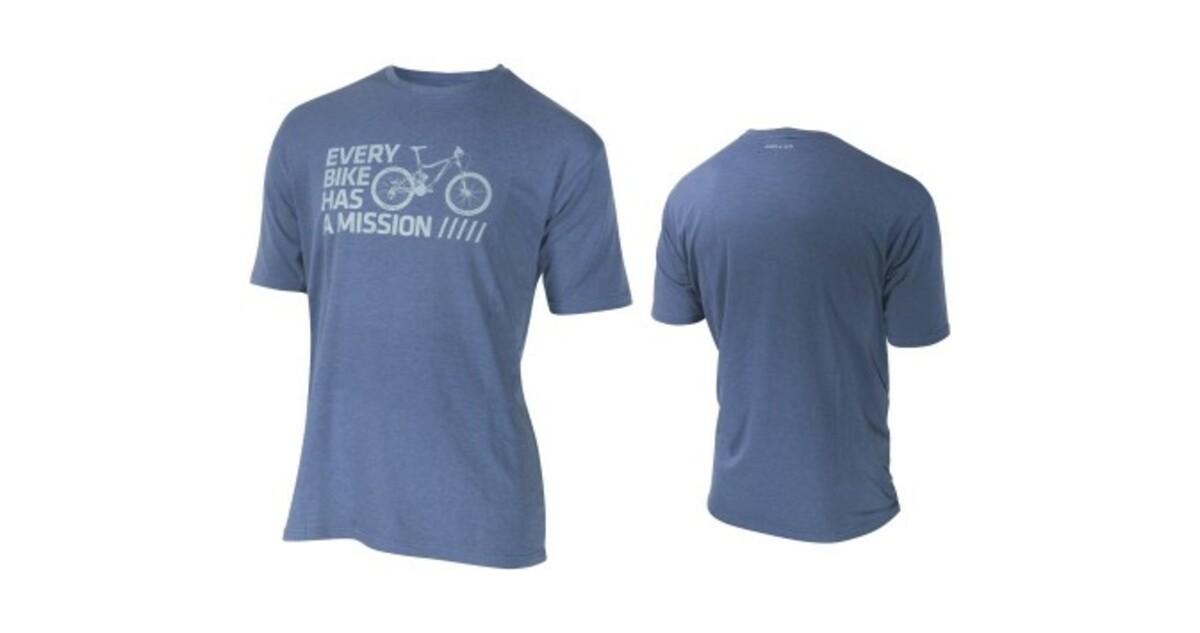 5f1f121a1b Kellys rövid ujjú férfi póló BIKE MISSION - kék - inSPORTline