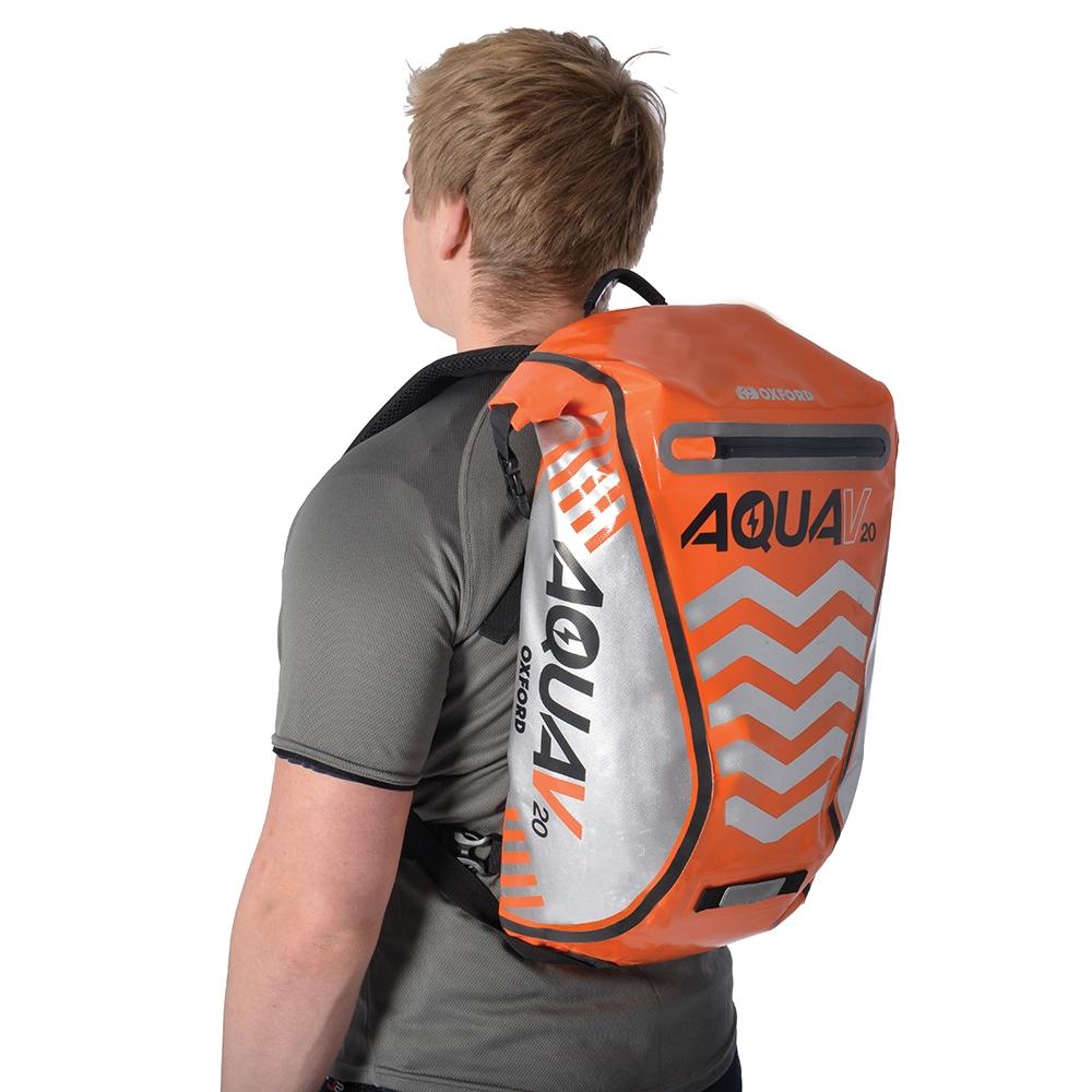 001953b44ed5 Vízálló hátizsák Oxford Aqua V20 Extreme Visibility - inSPORTline