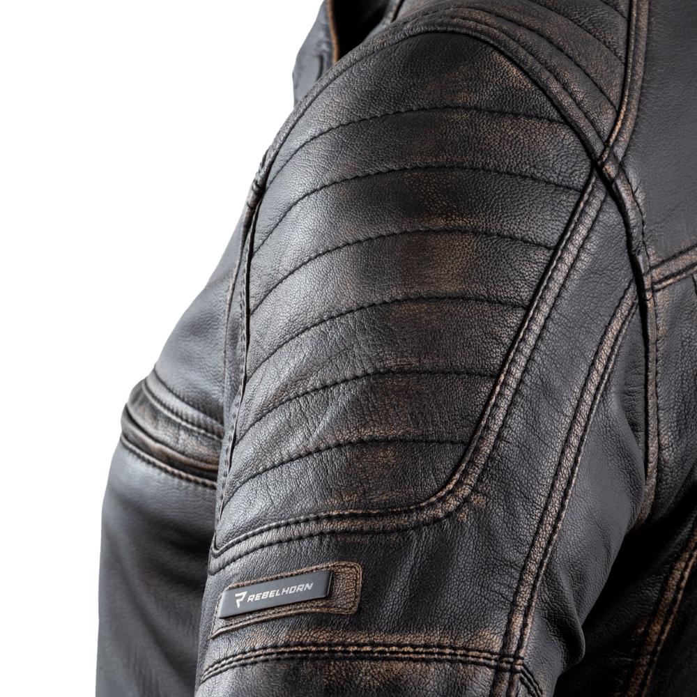 Motoros kabát Rebelhorn Hunter Pro CE inSPORTline
