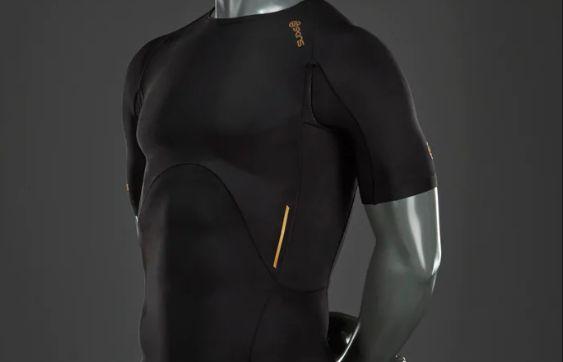 ca25d386f4 Skins A400 férfi rövid ujjú póló - fekete - inSPORTline
