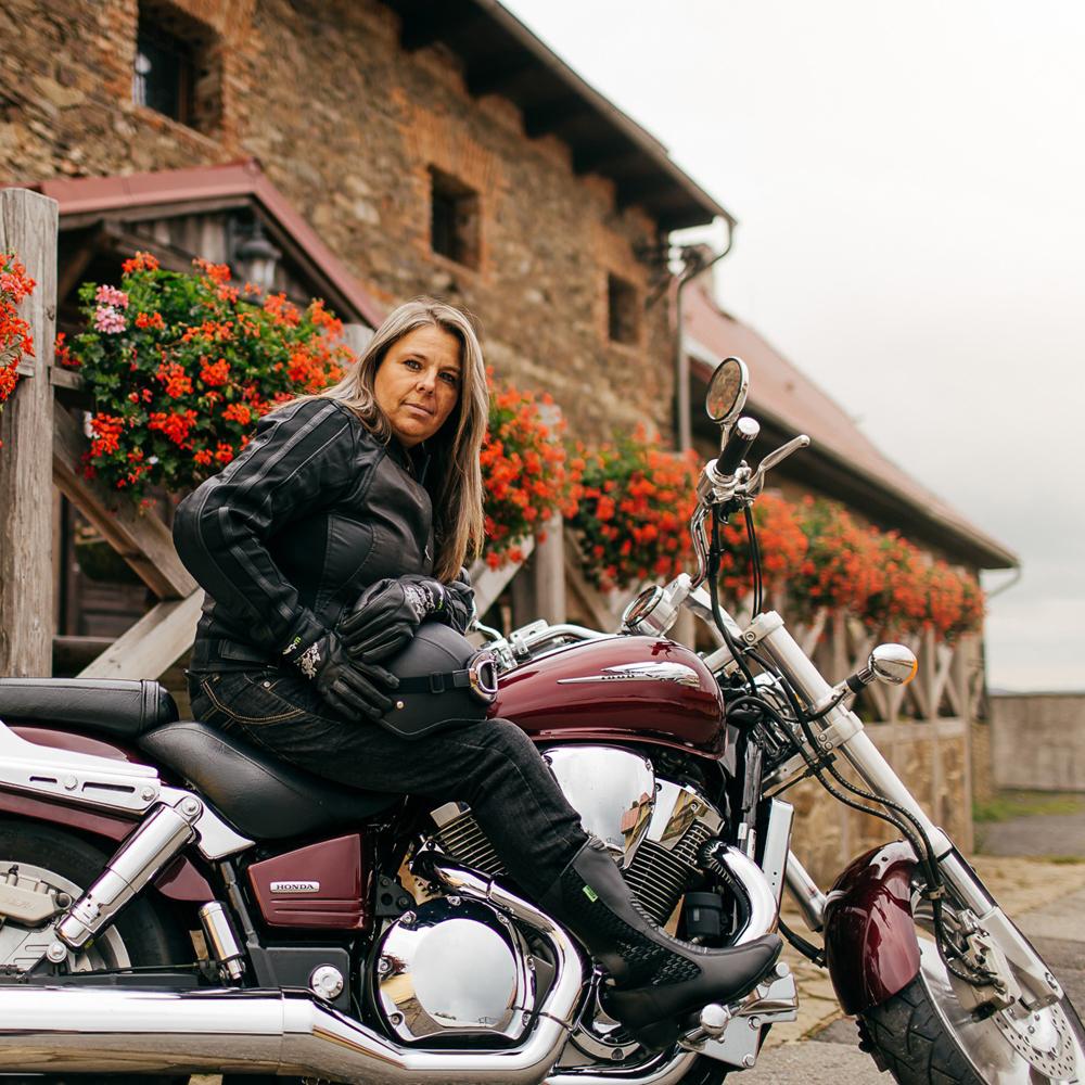 most vásárolok San Francisco divat stílusok Női bőr motoros csizma W-TEC NF-6090 - inSPORTline