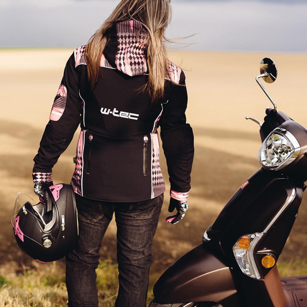 Női softshell motoros kabát W TEC NF 2781 inSPORTline