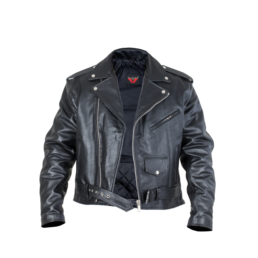 e28fb2b9b3 Bőr motoros kabát Sodager Live To Ride Jacket - inSPORTline