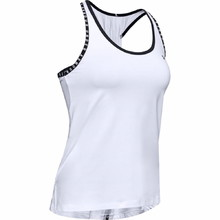 Női trikó Under Armour Knockout Tank - fehér