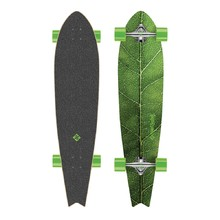 Longboard Street Surfing Fishtail - The Leaf 42""