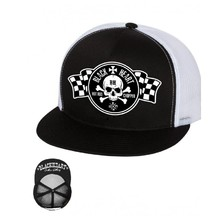 Baseball sapka BLACK HEART Start Flag Trucker - fehér