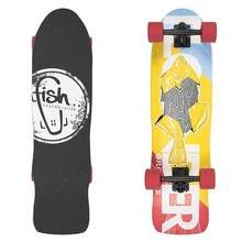 Mini longboard Fish Old School Cruiser Flounder 31""