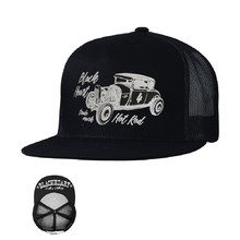 Baseball sapka BLACK HEART Coupe 32 Trucker - fekete