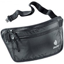 Övtáska DEUTER Security Money Belt II - fekete