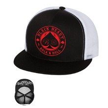 Baseball sapka BLACK HEART Ace Of Spades Trucker - fehér