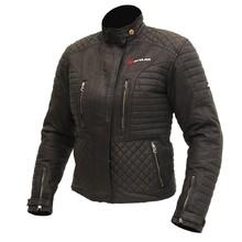 36f60b8bc10a Női textil motoros kabát SPARK Cintia - fekete