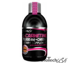 BioTech L-Carnitine + Chrome 70.000 mg narancs