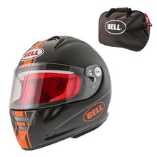 Motoros sisak BELL M5X Daytona Carbon Matt Orange