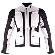 e80276788027 Női motoros dzseki Ozone Madame - szürke-fekete