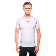 Férfi póló vízi sportokhoz Aqua Marina Scene - fehér 22b5c38b03