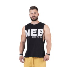Férfi póló Nebbia Back to the Hardcore tank top 144