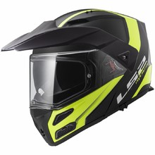 Motoros sisak LS2 FF324 Metro Rapid Matt Black Yellow P/J