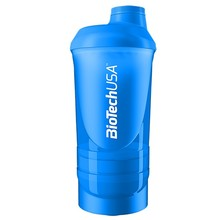 Shaker Wave+ kék 600ml (+200 +150)
