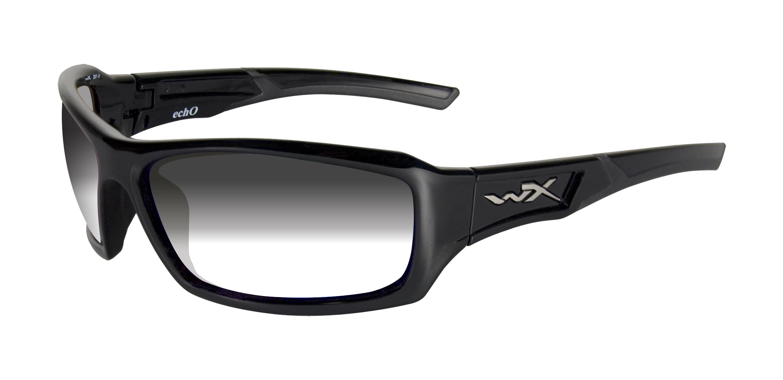 Napszemüveg Wiley X WX ECHO Sötét szürke / Smoke Grey
