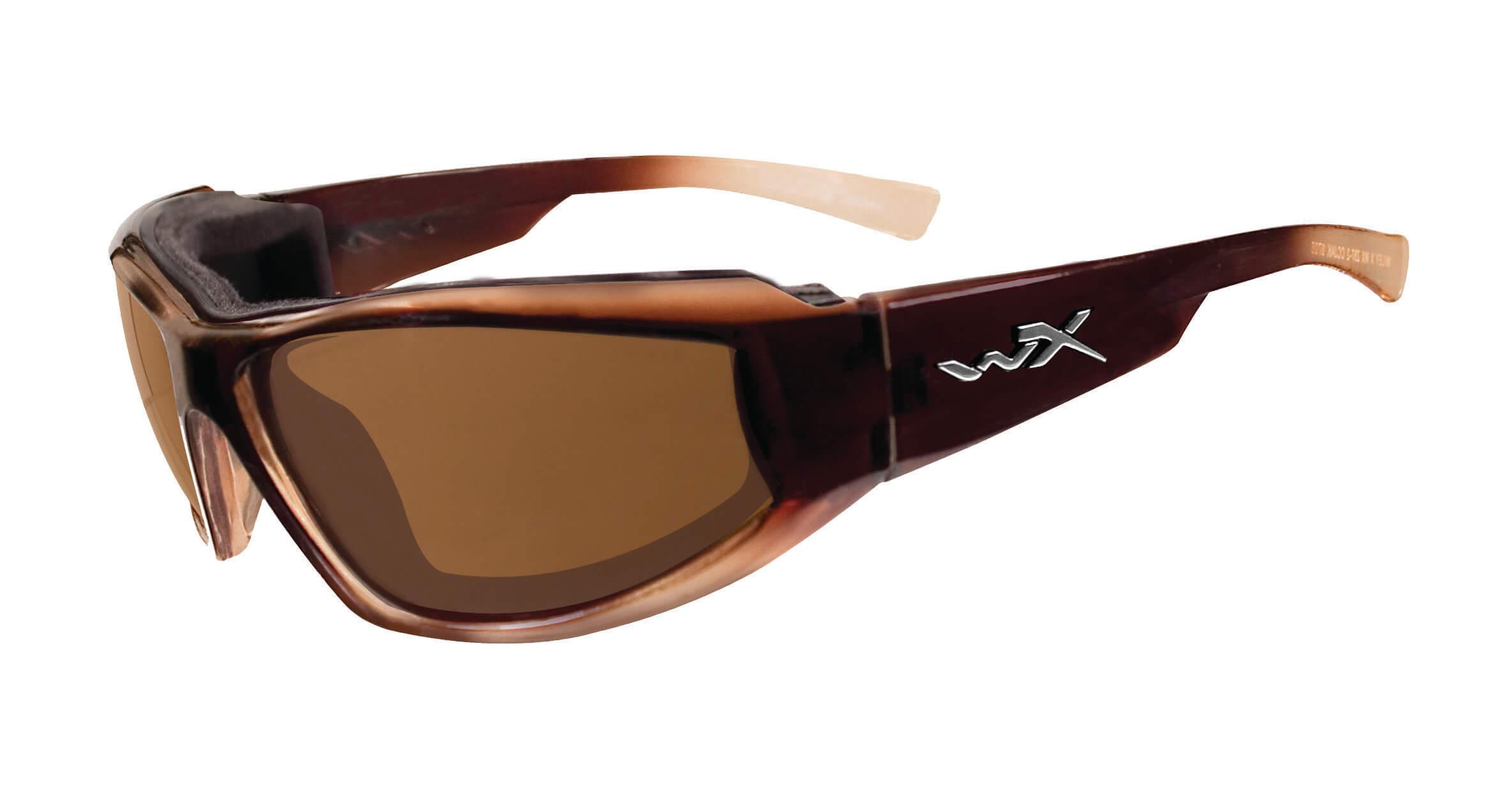 Napszemüveg Wiley X WX JAKE Polarizált bronz