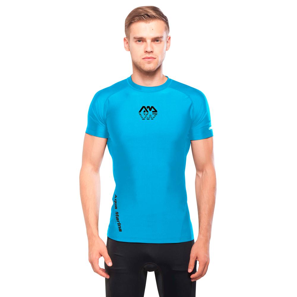 c7c126dad2 Férfi póló vízi sportokhoz Aqua Marina Scene - kék