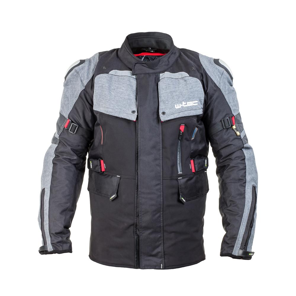 Férfi motoros kabát W-TEC Tomret NF-2220 - fekete-szürke 4a3ec92e30
