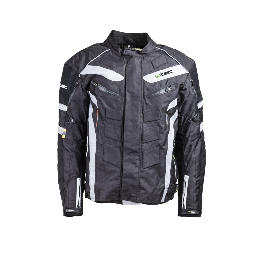46bd89cd93 Motoros kabát W-TEC NF-2116 - fekete-fehér - inSPORTline